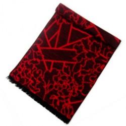 Zimní Hedvábný šátek dámský 100% SILK WWSS042