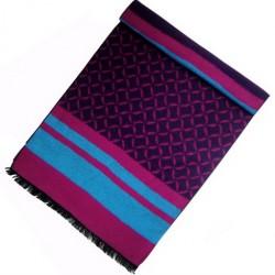 Zimní Hedvábný šátek dámský 100% SILK WWSS048