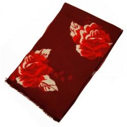 Zimní Hedvábný šátek dámský 100% SILK WWSS050