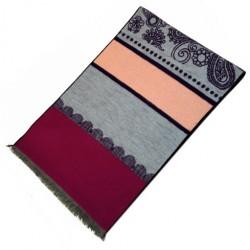 Zimní Hedvábný šátek dámský 100% SILK WWSS059