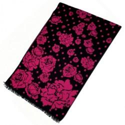 Zimní Hedvábný šátek dámský 100% SILK WWSS066