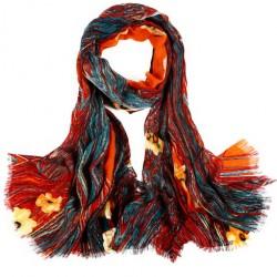 Vlněný šátek 100% WOOL WS8002