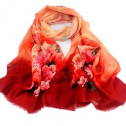 Vlněný šátek 100% WOOL WS1004