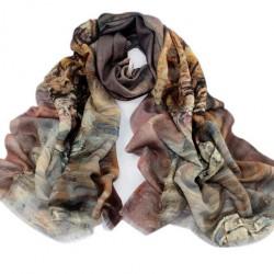 Vlněný šátek 100% WOOL WS1006