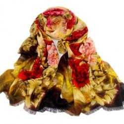 Vlněný šátek 100% WOOL WS1007