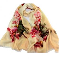 Vlněný šátek 100% WOOL WS1008