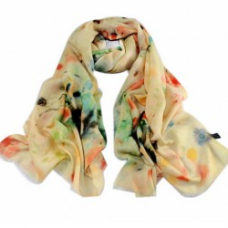 Vlněný šátek 100% WOOL WS10012