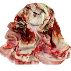 Vlněný šátek 100% WOOL WS10013