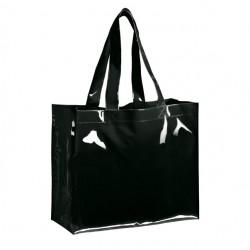 Nákupní taška s vinylovým vzhledem