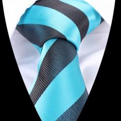 Hedvábná kravata modrá LD0474