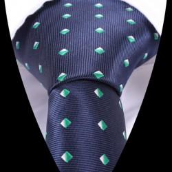Hedvábná kravata modrá LD0522