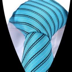 Hedvábná kravata světle modrá LD0562