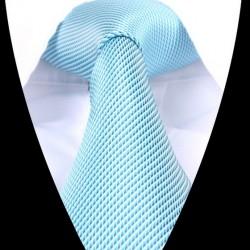 Hedvábná kravata světle modrá LD0621