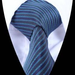 Hedvábná kravata tmavě modrá LD0912
