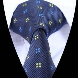 Hedvábná kravata světle modrá LD0913