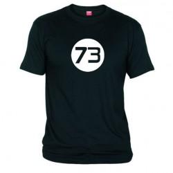 Pánské tričko 73 černé