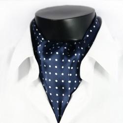 Hedvábná kravatová šála žlutá CV07