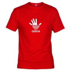 Pánské tričko Adios červené