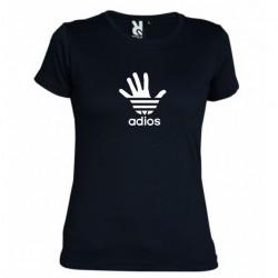 Dámské tričko Adios černé