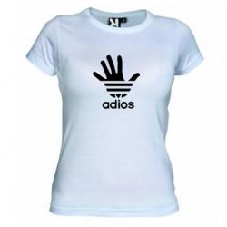 Dámské tričko Adios bílé