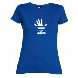 Dámské tričko Adios modré