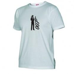 Pánské tričko 007 James Bond bílé