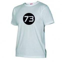 Pánské tričko 73 bílé