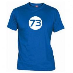 Pánské tričko 73 modré