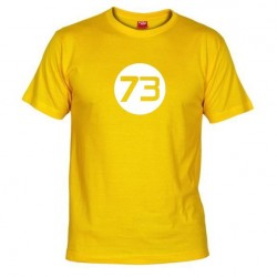 Pánské tričko 73 žluté