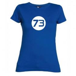 Dámské tričko 73 modré