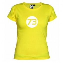 Dámské tričko 73 žluté