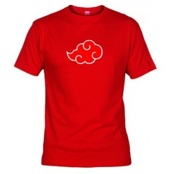 Pánské tričko Akatsuki červené