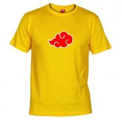 Pánské tričko Akatsuki žluté