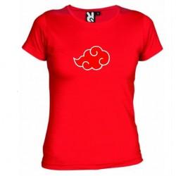 Dámské tričko Akatsuki červené