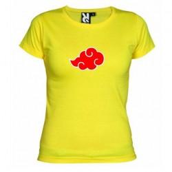 Dámské tričko Akatsuki žluté