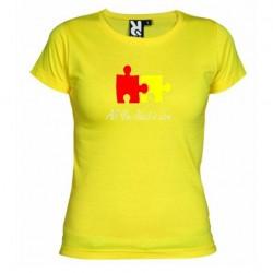 Dámské tričko All you need is love žluté