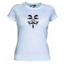 Dámské tričko Anonymous bílé