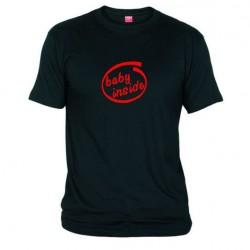 Pánské tričko Baby inside černé