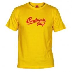 Pánské tričko Budu asi blejt žluté