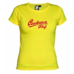 Dámské tričko Budu asi blejt žluté