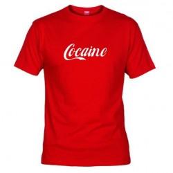 Pánské tričko Cocaine červené