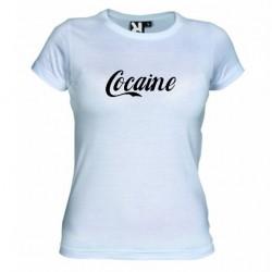 Pánské tričko Cocaine bílé