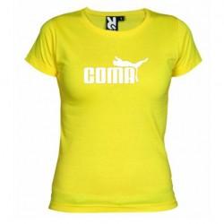 Dámské tričko Coma žluté