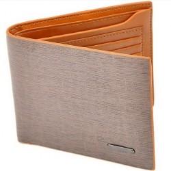 Pánská kožená peněženka světle hnědá