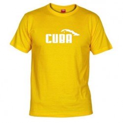Pánské tričko Cuba žluté