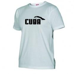 Pánské tričko Cuba bílé