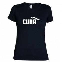 Dámské tričko Cuba černé