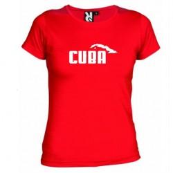 Dámské tričko Cuba červené