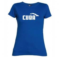Dámské tričko Cuba modré