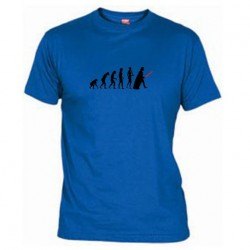 Pánské tričko Darth vader evolution modré